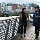 Two ladies in Dublin  by Esther  Moliné