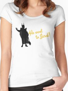 He Went to Jared! Women's Fitted Scoop T-Shirt