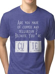 Warren's Shirt Cosplay Cute Tri-blend T-Shirt
