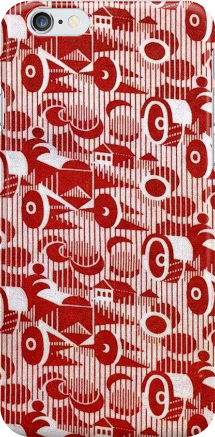 Red Soviet Deco Design by BettyBanana