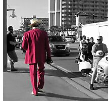 The Red Suit Photographic Print