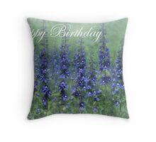 Card - Happy Birthday Throw Pillow