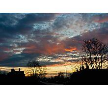 Sunset Street Photographic Print