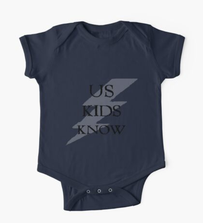 Us Kids Know One Piece - Short Sleeve