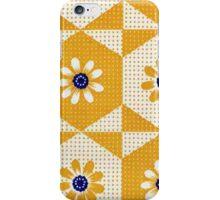 Retro 70's Flowers iPhone Case/Skin