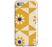 Retro 70's Flowers iPhone Case/Skin