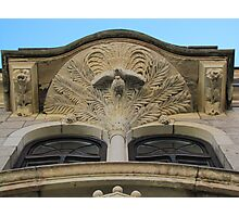 Facade Decoration Photographic Print