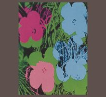 warhol flowers by artvagabond