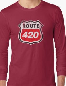 Vintage Route 420 Long Sleeve T-Shirt