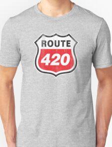 Vintage Route 420 Unisex T-Shirt