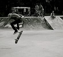 Glasgow Skate Scene by Julian Bailey