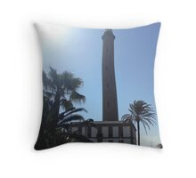 Bendy Lighthouse! Throw Pillow