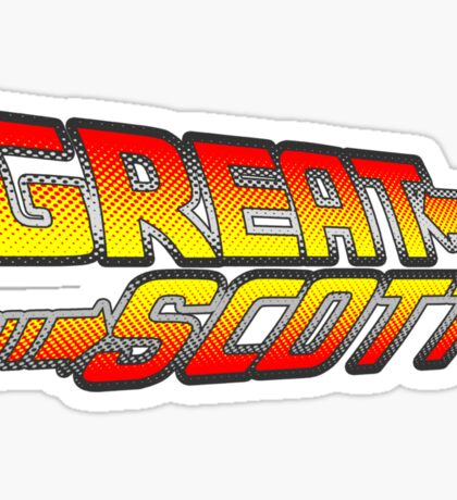 Great Scott! Sticker