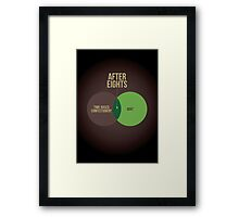After Eight Framed Print