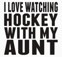 I Love Watching Hockey With My Sister One Piece - Long Sleeve