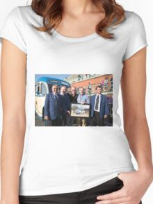 Chris Evans in Brighton Women's Fitted Scoop T-Shirt