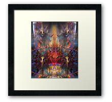 The Observer (Poetry & Art) Framed Print