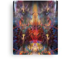 The Observer (Poetry & Art) Canvas Print