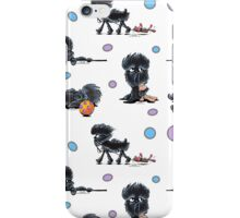 Color Me Affenpinscher {White} iPhone Case/Skin