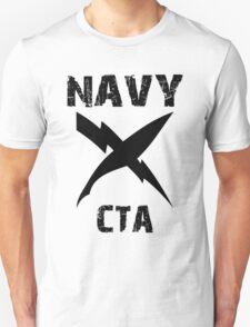 US Navy CTA Insignia - Black T-Shirt