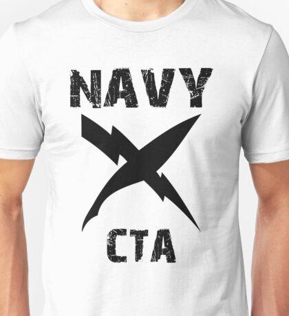 US Navy CTA Insignia - Black Unisex T-Shirt