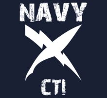 US Navy CTI Insignia - White by courson