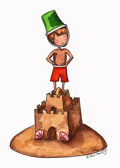 King of the Sandcastle by Erika  Hastings