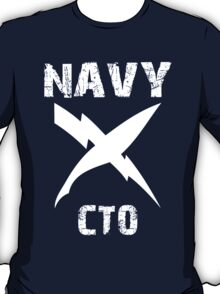 US Navy CTO Insignia - White T-Shirt