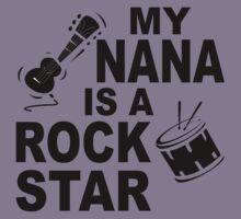 My Nana Is A Rock Star Kids Tee
