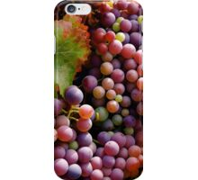 Harvest the Grapes iPhone Case/Skin