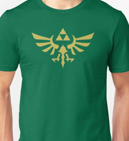 The Legend of Zelda Royal Crest (gold) Unisex T-Shirt