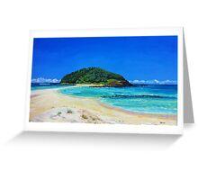 Crampton Island by Stephanie Burns Greeting Card