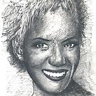 halle berry by jovica