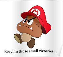 Goomba victory!! Poster
