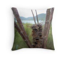 Banksia view of Whitsundays Throw Pillow