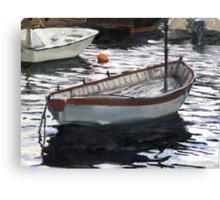 Portofino Anchorage Canvas Print