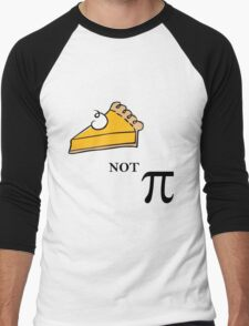 Pie not Pi Men's Baseball ¾ T-Shirt