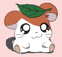 Hamtaro with Leaf One Piece - Long Sleeve