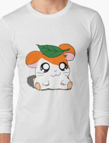 Hamtaro with Leaf Long Sleeve T-Shirt