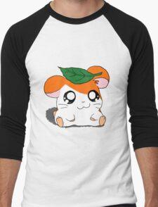 Hamtaro with Leaf Men's Baseball ¾ T-Shirt