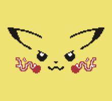 8-Bit Pikachu by SaBLeSoLDi3R