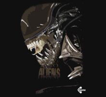 Alien Xenomorph Shadow Tee by Sam Mitchell