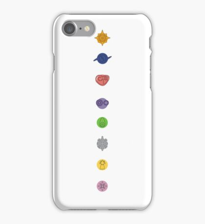 Digimon Crests. iPhone Case/Skin