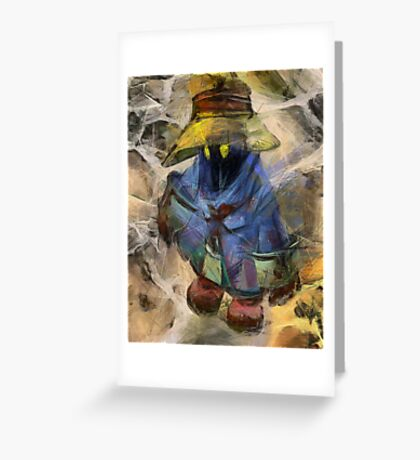 Lost Mage Greeting Card