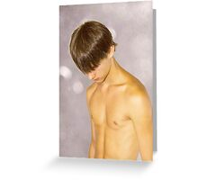 Comfortably Numb Greeting Card