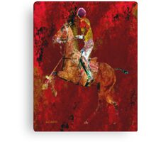 The Polo Player Canvas Print