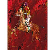 The Polo Player Photographic Print