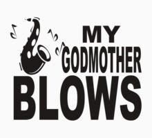 My Godmother Blows Saxophone One Piece - Short Sleeve