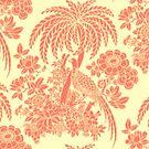 Pink Chintz Pattern by BettyBanana