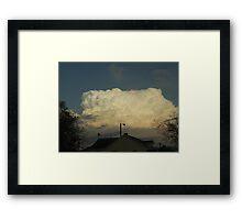 Superstorm's 8 Framed Print